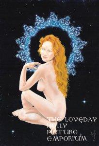 Goddess in the Night Sky