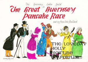 The Great Guernsey Pancake Race