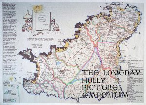 The Map of Ebenezer Le Page's Guernsey